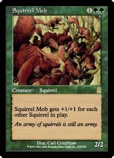 Mtg Infinite Squirrel Deck by Squirrel Mob Magic Card