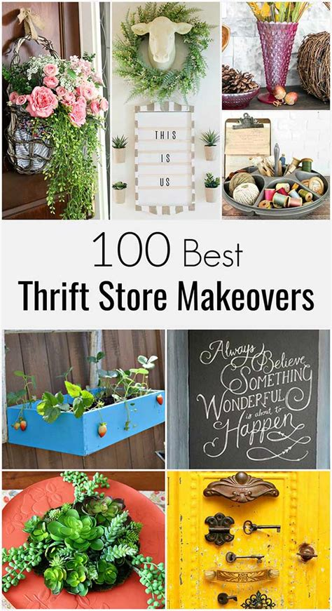 100 Best Thrift Store Makeovers  House Of Hawthornes