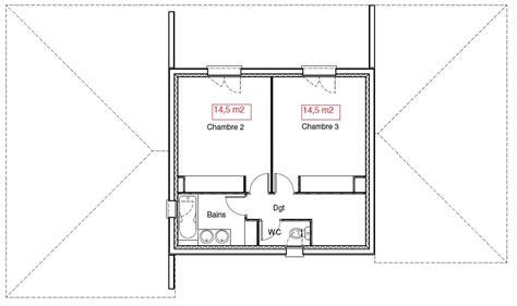 plan maison 1 騁age 3 chambres avis plan maison 130 m2 étage partiel région toulouse 11 messages