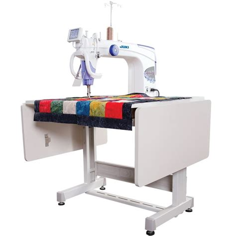 sewing machine tables for quilting juki tl 2200qvp s long arm quilting machine with sit down