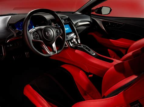 Wallpaper 2017 Acura Nsx, Supercar, Hypercar, Interior
