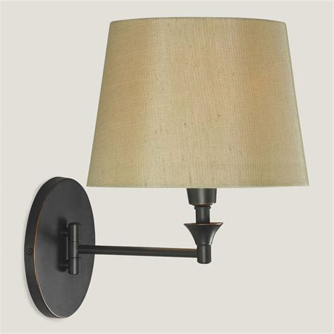 bronze lewiston swing arm wall sconce world market