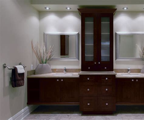 contemporary bathroom  storage cabinets kitchen craft