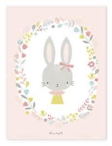 poster babyzimmer lilipinso kinderzimmer poster 39 hase 39 rosa pastell 30x40cm bei fantasyroom kaufen