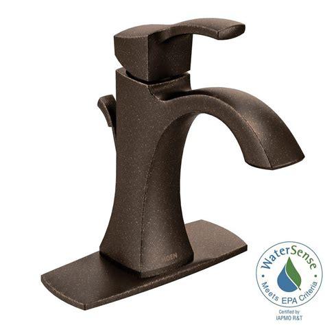 moen oil rubbed bronze bathroom faucet moen bathroom oil