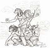 Lasagna Drawing Sketch Demon Getdrawings Paintingvalley sketch template