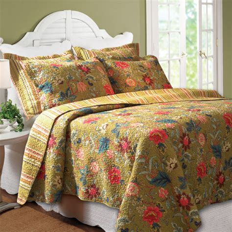 greenland home quilts greenland home fashions mendocino quilt set