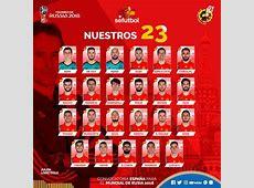 La liste des 23 joueurs espagnols retenus pour la coupe du