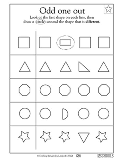kindergarten preschool math reading worksheets which