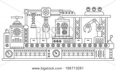 Assembly Line Images, Illustrations, Vectors Assembly