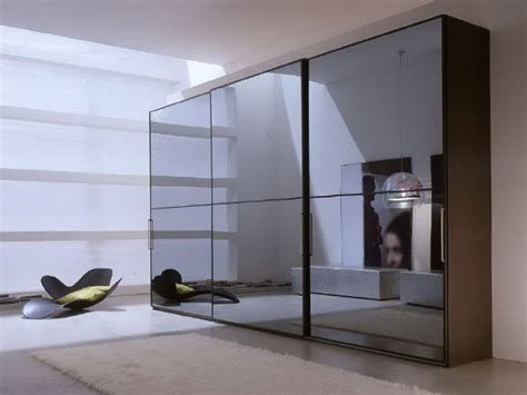 Sliding Mirrored Closet Doors  Home Design Ideas