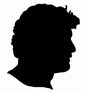 Face silhouettes of Men, Women and Children