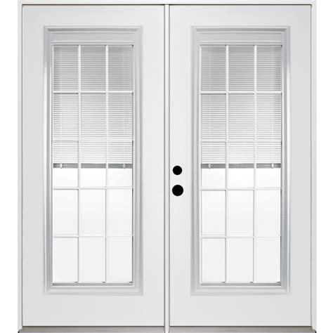 shop reliabilt 71 375 in blinds between the glass steel inswing patio door at lowes