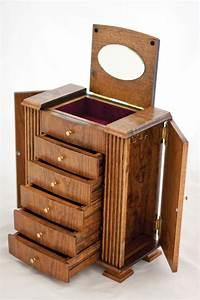 Cherry Wood Jewelry Box 21st birthday Pinterest