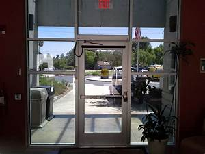 Storefront Doors  Glass And Aluminum Doors