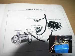 Generator Voltage Regulator Wiring Question   Amp Gauge