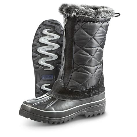 Permalink to Winter Boots Black Womens