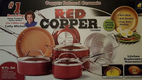 red copper cookware review   buy