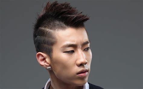 trendiest undercut hairstyles  asian men
