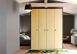 Dressing Sans Porte : armoire dressing sur mesure ~ Dode.kayakingforconservation.com Idées de Décoration