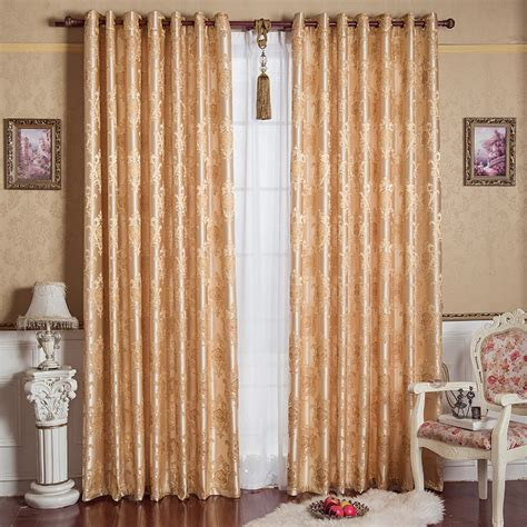 new arrival rustic curtains for living room bedroom