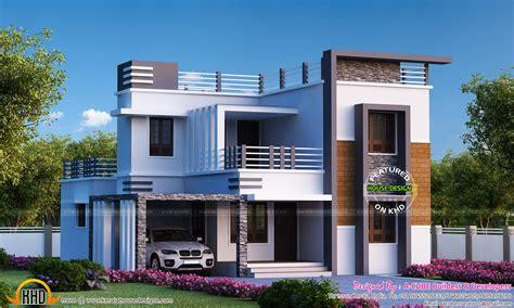 4 bedroom flat roof modern home 2655 sq