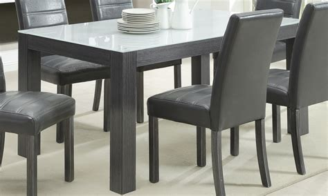 dining table with grey chairs prettiest grey wood dining table models homeideasblog com