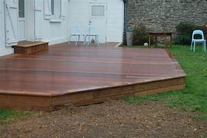 terrasse exterieure bois nos conseils With plan pour terrasse exterieur