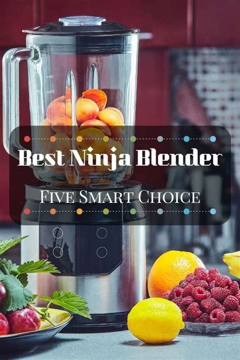 ninja blender making  smartest choices