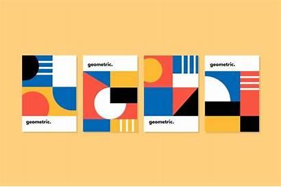 Bauhaus Grafikdesign Kollektion Stil Ontwerp Stijl Grafisch