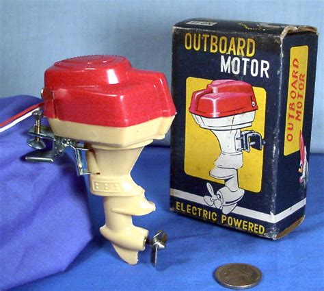 Toy Boat Motor Electric by Toy Boat Electric Battery Outboard Motor In Box 1950 S