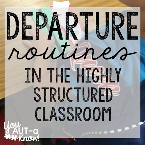Functional Routines in the Highly Structured Classroom ...
