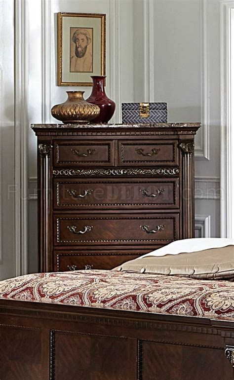 Russian Hill Upholstery by Russian Hill 1808 Bedroom In Cherry By Homelegance W Options