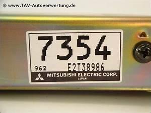Engine Control Unit Md307354 E2t38986 7354 Mitsubishi Colt Lancer  195 00