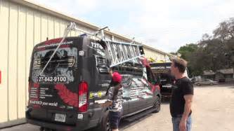 Extreme Truck and Van Equipment, Dropdown Ladder Rack