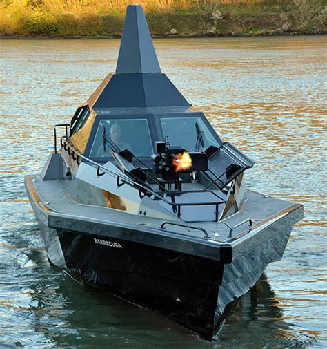 Barracuda Stealth Boat Price by Patrol Vessel Design Launched In Cork By