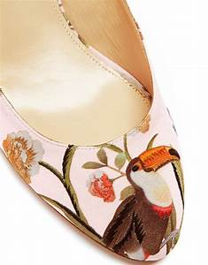 Aquazzura Partners with de Gournay for Luxe Capsule Collection