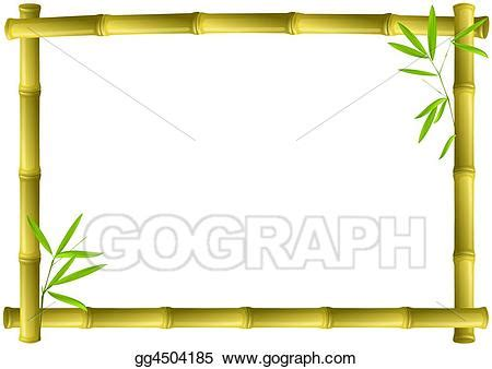drawing bamboo frame clipart drawing gg gograph