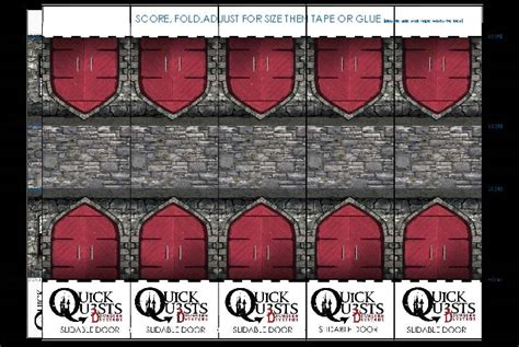 smashwords printable 3d dungeon tiles master dm set