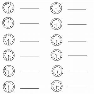 free coloring pages of exercises clock With exercise timers