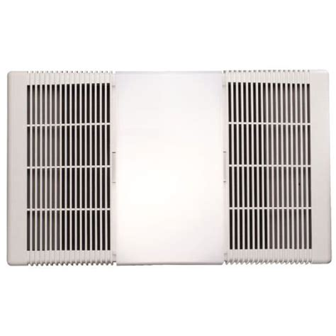 bathroom extractor fan and heater nutone 665rp 70 cfm bathroom exhaust fan with heater and