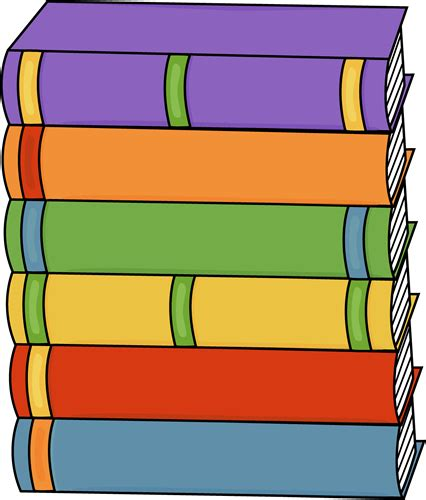 Clipart Books Stack Of Books Clip Stack Of Books Image