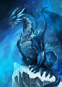 Cute Baby Ice Dragon | Inspiration: 25 Epic Dragon ...