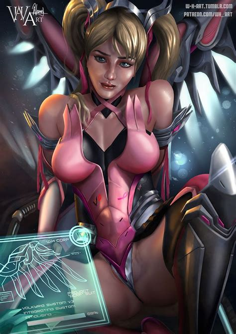 angela s new suit pink mercy nsfw works by w h art pictures sorted by rating luscious