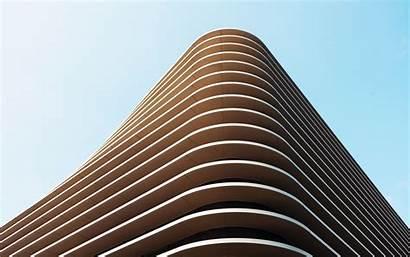 Minimal Architecture Building Modern Structure Structural 4k