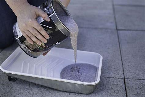 garage floor paint grip using granite grip to renew your concrete patio