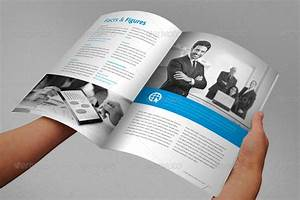 annual report brochure indesign template by braxas With indesign templates free download