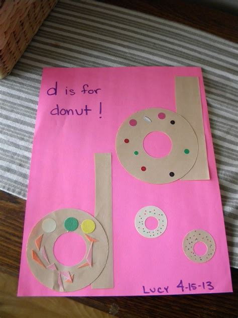 d is for donut alphabet ideas preschool letter crafts 369 | 41ca1415752b14a6235f385fa4e16664