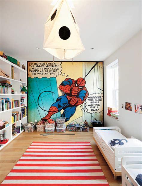 kids bedroom design  spiderman themes