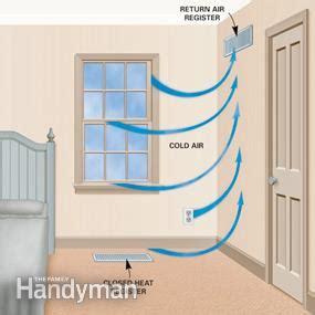 save energy  closing heat registers  family handyman